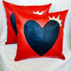 Love is King Pillow is PERFECT for #ValentinesDay.