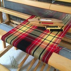 Springtime in New England is often more about still-wintertime-temperatures, grey skies, and mud. But we artisans can do som. Card Weaving, Tablet Weaving, Weaving Textiles, Weaving Patterns, Inkle Loom, Tartan, Weaving Projects, Tear, Weaving Techniques