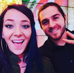 """""""Jenna Marbles and Julien Solomita (requested)"""" Julien Solomita, Jenna And Julien, Robot Restaurant, Good Mythical Morning, Over The Top, Taste The Rainbow, I Have A Crush, Dan And Phil, Kermit"""