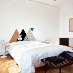 Ideia boa e fácil para você mesmo fazer a cabeceira da sua cama - dcoracao.com - blog de decoração
