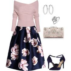 Fancy by mon2079 on Polyvore featuring Chicwish, Jessica Simpson, Forever New, Swarovski and Bling Jewelry