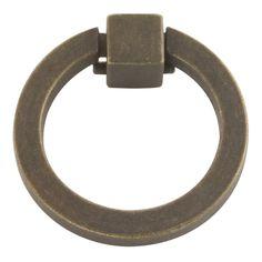 Camarilla 2-1/16 in. Windover Antique Ring Pull