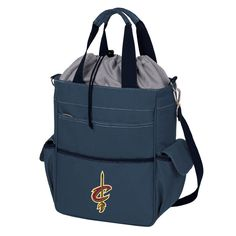 Picnic Time Cleveland Cavaliers Activo Cooler Tote, Blue (Navy)