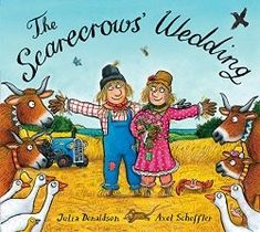 To celebrate The Scarecrows' Wedding by Julia Donaldson on stage, we are making our favourite Scarecrow Crafts for kids. Read, Make & Watch! The Scarecrows Wedding, Julia Donaldson Books, Axel Scheffler, Scarecrow Festival, Illustrator, Scarecrow Crafts, Garfield Comics, Thing 1, Book People