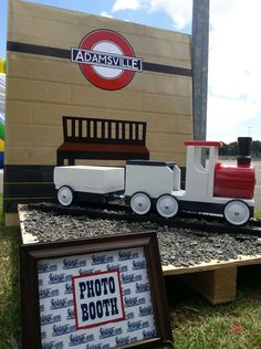 Vintage Train Party Birthday Party Ideas | Photo 7 of 8