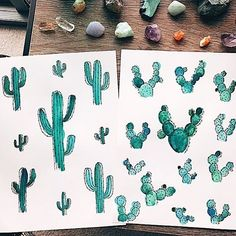 Cactus 🌵ENTRY 4️⃣: LIKE to VOTE! A classy cluster of 🌵🌵🌵 cactus by @m.eg__ (follow!) {message to the artist- you can totally ask your friends to like this- more votes, more chances to win!} • How to enter the weekly art contest: •  SIMPLE RULES: 1️⃣ create an image or video with the Theme: CACTUS 🌵  2️⃣ your entry counts when you tag it with #SurelySimple 3️⃣ for better promo, also tag your post with : 🔺 ART- #surelysimpleart 🔺 LETTERING- #surelysimplelettering 🔶if you incorporate…