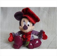 Minnie Mouse Soft Toy , Dressed In Winter Clothes on eBid United Kingdom