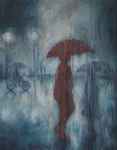Rain Man painting by Tharien Smith | StateoftheART | StateoftheART