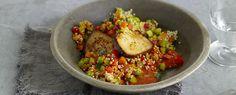 Quinoa-Ratatouille mit Räuchertofu | Vegetarische Gerichte zum Abnehmen von Almased
