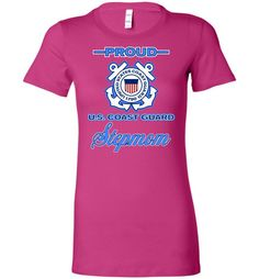 Proud U.S. Coast Guard Stepmom Women's T-Shirt