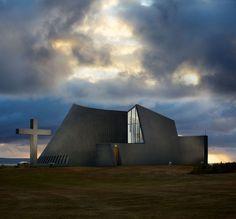 Iglesia en Blönduós #Islandia
