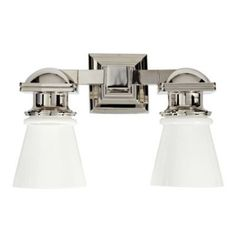 Ace double sconce- Serena & Lily