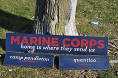 home is where the marine corps sends us