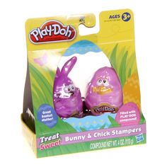 Play-doh Bunny and Chick Stampers (1, Ages 3) 4 pk #Playdoh
