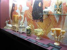 Kosmetikartikel aus dem Grab von Tutanchamun