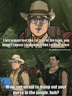 Cyrill and Archer from the 'El Contador' episode. Lol my fave Archer Tv Show, Archer Fx, Archer Quotes, Sterling Archer, Adult Comedy, Danger Zone, Best Shows Ever, Funny Photos, Movies And Tv Shows