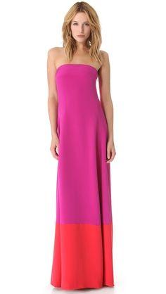 Love the colors- Jenni Kayne Wrap Gown