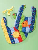 Quilting - Patterns for Children & Babies - Animal Quilt Patterns - Sun & Fun Bibs