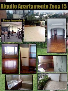 GUATEMALA REAL ESTATE  *   Bienes Inmuebles Guatemala: Alquilo Apartamento Zona 15