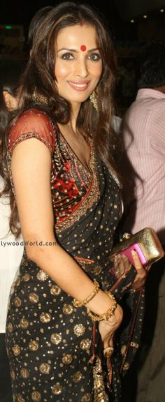 #Desi #Fashion: Malaika Arora Khan #Saree ~