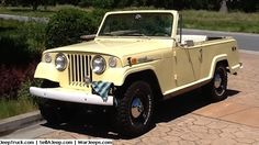 Jeeps For Sale and Jeep Parts For Sale - 1970 Kaiser Jeepster Commando Roadster