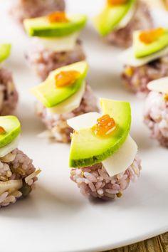 Vegetable Temari Sushi (Sushi Balls)