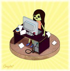 Like a #zombie.