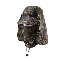 Camouflage Hunting Hats 6 Styles