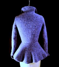 Bronte Hand-knit Riding Jacket   (Redheart knits)