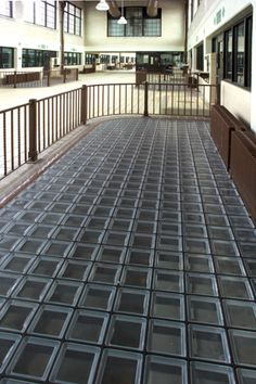 glass block floor - Google Search