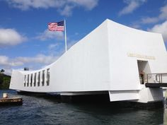 Pearl Harbor.  Our visit to the Hawaiian Islands for our 12th anniversary.