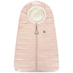 Moncler Pink Down Padded Baby Nest