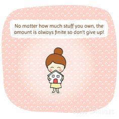 "12 Wisdom You Should Know from Marie Kondo's Second Book ""Spark Joy"" - Juju Sprinkles - Sprinkles of Happiness #konmari #decluttering #joy"
