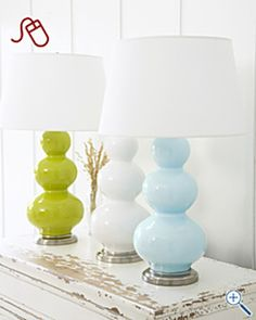 G Hill large triple gourd lamp Lamp Redo, Lamp Makeover, Furniture Makeover, Paint Furniture, Furniture Projects, Spray Paint Lamps, Painting Lamps, Outdoor Light Fixtures, Outdoor Lighting