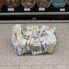 Per Color – Le supermarché classé par couleur #white