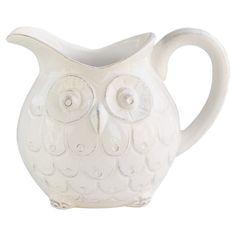 Wonderful owl pitcher.