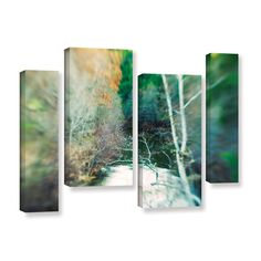 Calm River by Elena Ray 4 Piece Gallery-Wrapped Canvas Staggered Set
