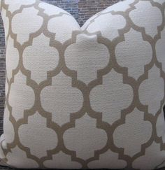 Designer Pillow Cover Lumbar 16 x 16 18 x 18 20 x by 3BModLiving