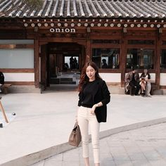 Travel Outfits, Fashion Outfits, Womens Fashion, Korean Fashion Trends, Simple Outfits, Casual Wear, Style Me, Street Style, Korean Style