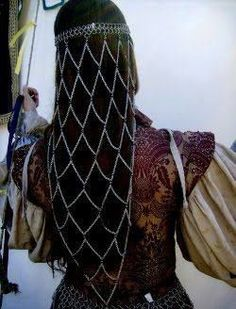 Celtic hair jewelry :-)