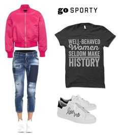 """Untitled #150"" by wakawaka on Polyvore featuring Dsquared2, rag & bone and Steffen Schraut"