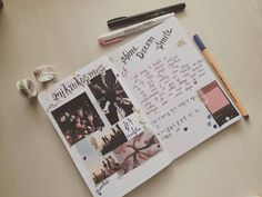 """jyoti🌻 on Instagram: """"My first kpop journal officially😅"""" Bullet Journal Cover Ideas, Journal Covers, Kpop, Instagram, Magazine Covers"""