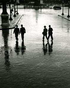 André Kertész - Place de la Concorde, Paris, 1928