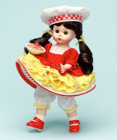 On Top Of Speghetti - Madame Alexander 8 inch doll.  Madame Alexander is a brand of American collectible dolls first introduced in 1923.