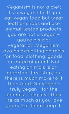 Veganism is not a diet or religion... I am a veggitarian working my way to being a vegan ;)