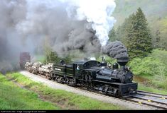 wv secenry pics | ... Cass Scenic Railroad Shay at CASS, West Virginia by Joe Goodrich