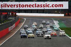 Silverstone Classic Race Start