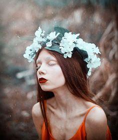 Photographer: Nicholas Javed Photography Makeup: Wołosewicz-Makeup Model: Alicja Zebrowska  #darkbeauty #DarkBeautyMag #photography
