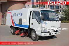 Unique Brand New ISUZU NKR 3cbm-5cbm Isuzu Road Sweeping Vehicle Online,Vacuum Wet Type Road Sweepers