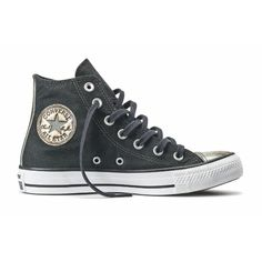 Tênis Converse All Star Ct As Brush Off Leather Toecap Hi Preto CT03470001  - Twshoes Tenis 300aa08cb22fb